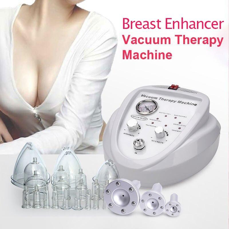 Instrumento de ampliação do peito de carregamento feminino levantamento da bomba realçador do peito massageador terapia a vácuo corpo moldar dispositivo beleza
