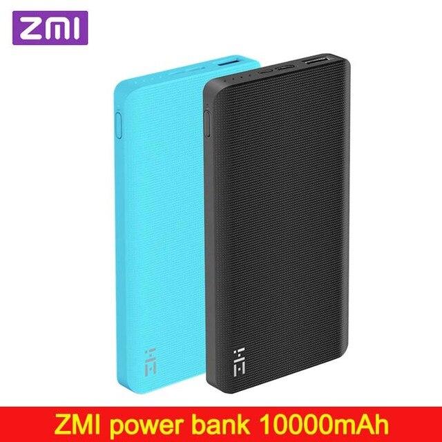Внешний аккумулятор ZMI на 10000 мАч, внешний аккумулятор, портативная зарядка, быстрая зарядка 2,0, двухсторонняя Быстрая зарядка для iPhone, Xiaomi