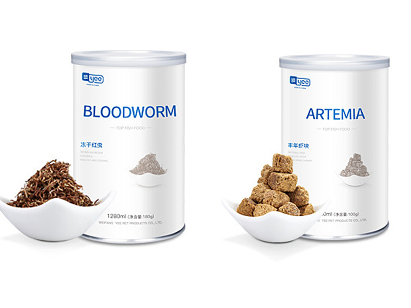 Red Blood Worm Freeze Dried Artemia Salina Fish Food Feed for All Kinds of Tropical Aquarium Small Fish