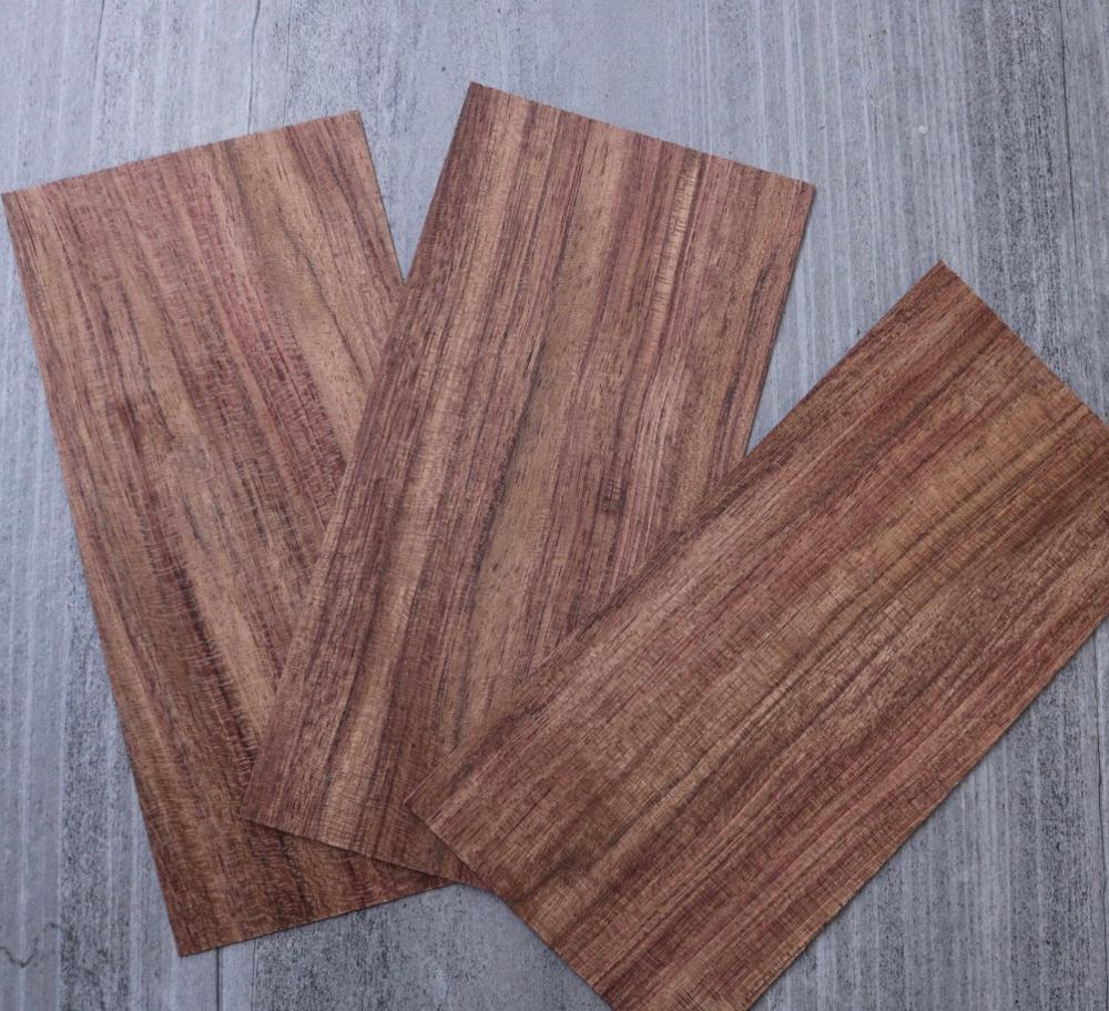5pcs 7x20cm  Thickness:1mm Natural Brazilian Rosewood