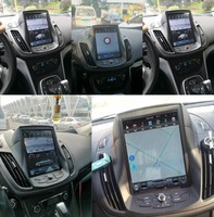 10.4 Tesla Screen Navigation For Ford Kuga 2013 2017 Android 8.1 Car radio GPS bluetooth Multimedia carplay 2K Video Head Unit