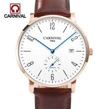 Relogio Masculino Carnival Brand Luxury Mechanical Watch Men