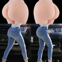 Full Silicone Pads Buttocks Hips Enhancer Body Shaper Pants Underwear Panty for Women Drag Queen Casual Thickness Ass 6 Sizes