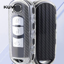 Porte-clés de voiture en TPU, housse pour télécommande, pour Mazda 2 Mazda 3 Mazda 5 Mazda 6 Atenza Axela MX5