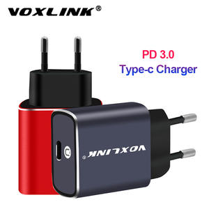 VOXLINK Charge QC3.0 Type-C Samsung S9 Huawei P30 Xiaomi Wall/travel 8-Plus iPhone X
