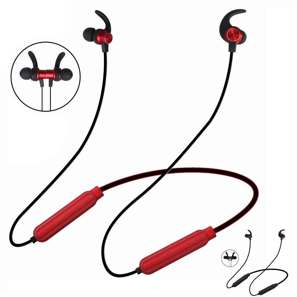 PunnkFunnk Bluetooth 5 0 Earphones Wireless Neck Headphones  Magnetic Bass Stereo headsets auriculares fone de ouvido