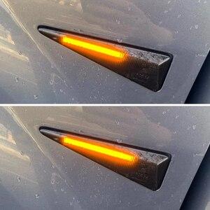 Image 5 - 2Pcs דינמי מהדר מנורות LED צד מרקר אור עבור רנו מגאן 2 CC/Vel Satis/רוח/avantime/גרנד סניק 2/Espace 4/תאליה