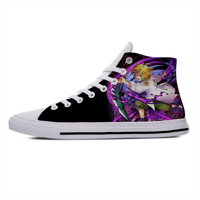 SEVEN DEADLY SINS THEMED HIGH TOP SHOES (10 VARIAN)