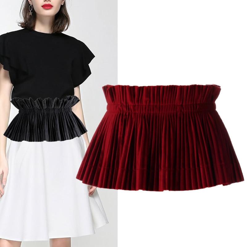 Wide Waist Belts For Women Dress Shirt Cummerbunds Women's Belt For Dresses