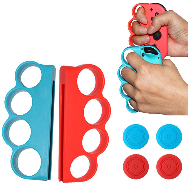 For Nintendo Switch NS Game Accessories Left/Right Boxing Fitness Gaming Handle Grip Case Hand Holder Grap For Nintend Switch