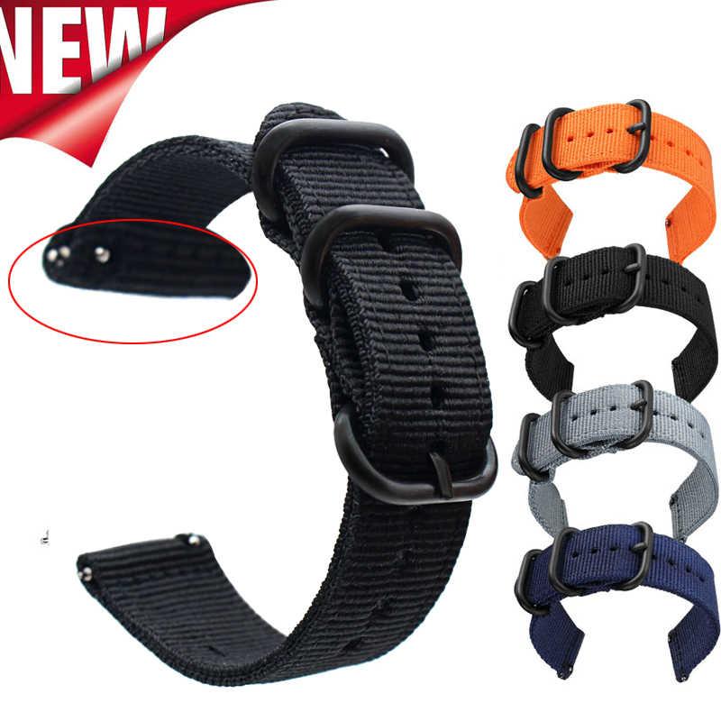 ナイロンスポーツ時計バンド ticwatch プロ/ticwatch E2/ticwatch S2 腕時計アクセサリー交換ブレスレットストラップ lg w100 W110