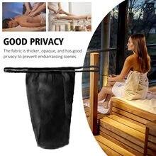 100 pces para as mulheres termas envolto individualmente roupa interior higiênica t thong com cintura elástica cuecas descartáveis não tecidos