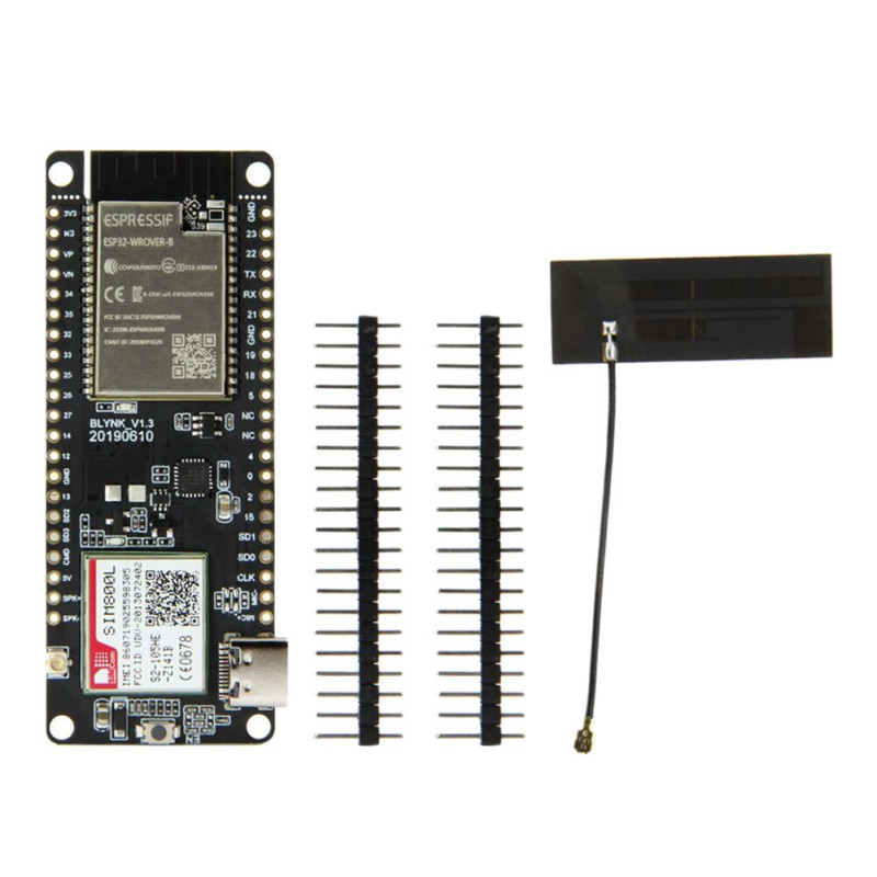 TTGO T-Call V1.3 ESP32 Wireless Module GPRS Antenna SIM Card SIM800L Module ESP32-WROVER-B 2.4GHz SIM800L Development Board