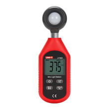 UNI-T UT383 mini Luminometer Photometer 200,000 Lux light meter equipped with photoelectric sensing technology