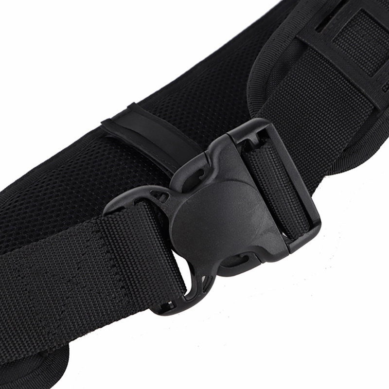 Hd5b8f8c54fe247feb1efd0f96157f3163 - Tactical Waist Belt Water Resistant Adjustable Training Waistband Support For Molle System