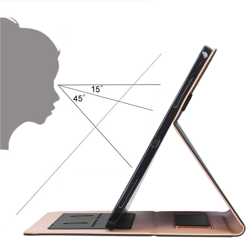 Coque Pro for Case iPad with 11-Luxury Flip-Cover Pencil-Holder