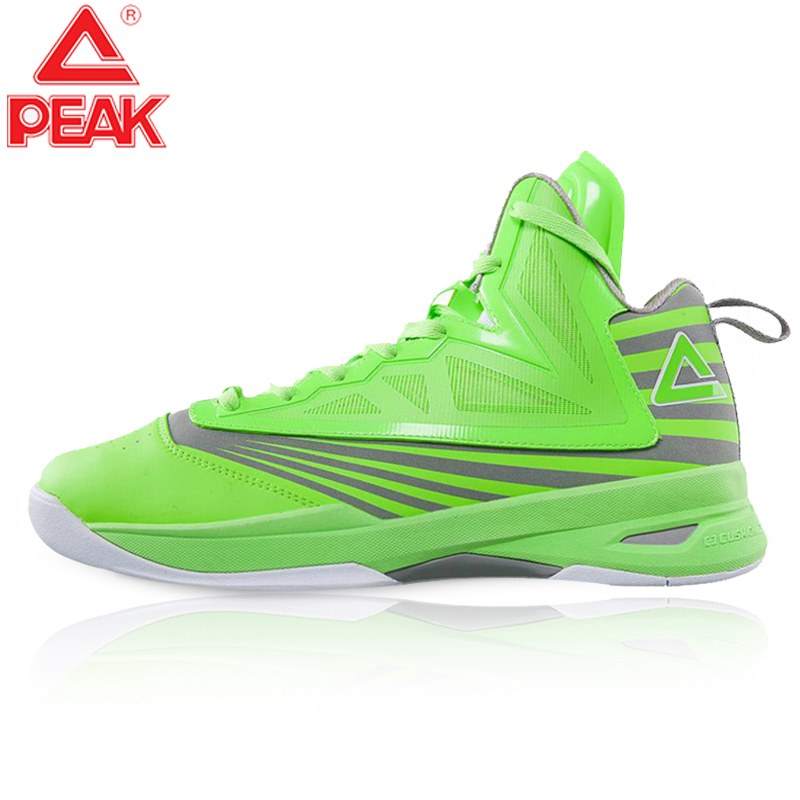 PEAK Underground Men Basketball Shoes Cushioning Wearable Sports Shoes Comfortable Non-slip Gym Training Basketball Sneakers