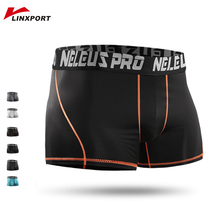 Men Running Shorts Compression Sportswear Gym Clothing Jogger Underwear Fitness Short Tights Athletic Trunks Boxer Quick Drying