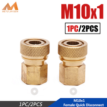 Coupling-Connector PCP Paintball M10x1 8mm-Fittings 1/8bspp Socket Copper Female