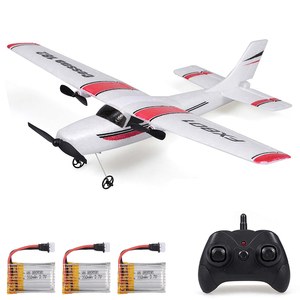 Original FX801 RC Airplane Cessna 182 2.4GHz 2CH RC Aircraft Durable Outdoor Flight Toys for Beginner 20Mins Flying Time Kids