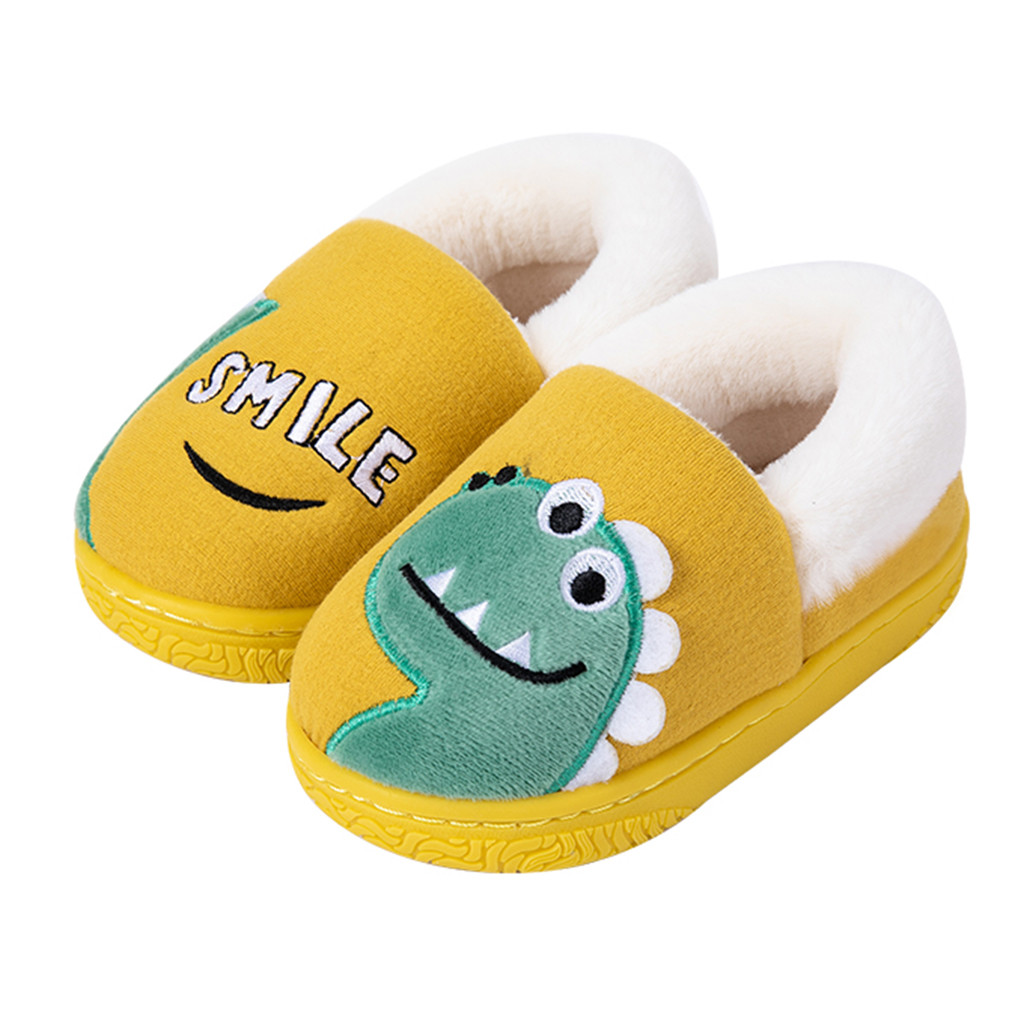 JUNGEN Couple Pantoufles Pain de Simulation Style Pantoufles Automne Hiver Chaussons Coton Maison Chaussures dInt/érieur /Épais Fond Slippers Chaussures EU 39//42 A-Jaune Brown-L