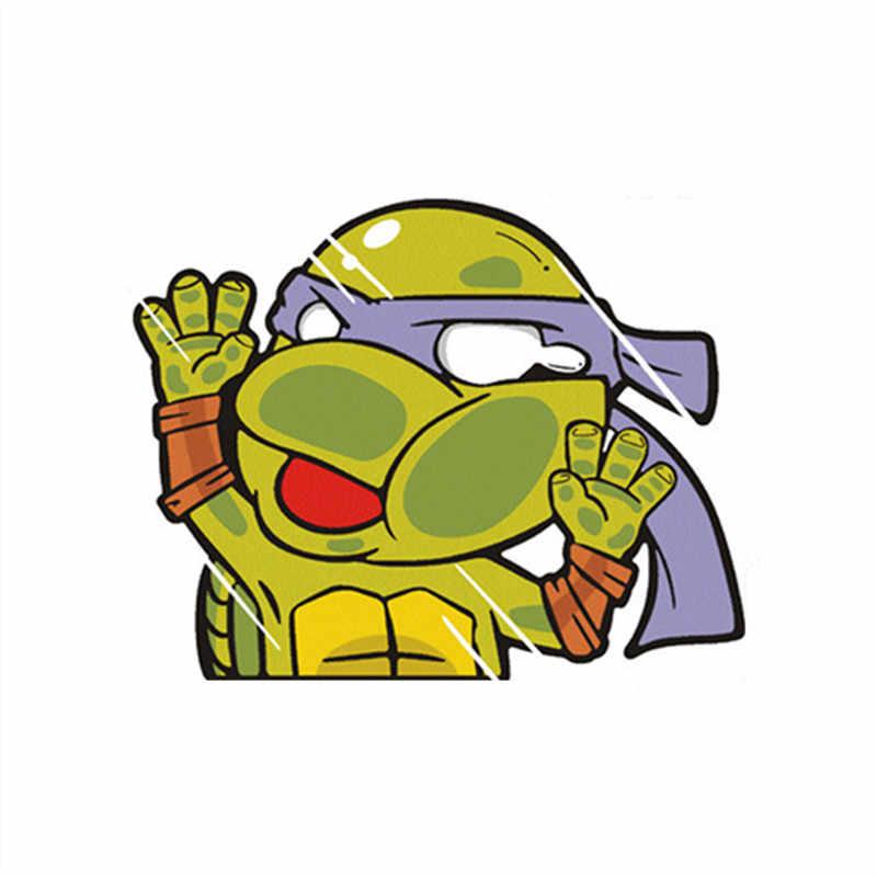 سوبر مضحك أنيمي الملصقات توتورو تصطدم الزجاج ملصقات تصفيف السيارة ثلاثية الأبعاد شارات الفينيل للمنزل جدار الباب نافذة الديكور جدارية