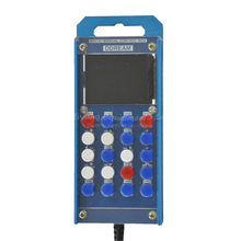 цена High quality  full function full serial interface mach3 manual control with CNC display full aluminum anode sand blasting shell