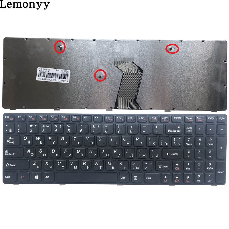 NEW Russian NEW Keyboard FOR LENOVO G500 G510 G505 G700 G710 G500A G700A G710A G505A RU Laptop Keyboard (NOT FIT G500S)
