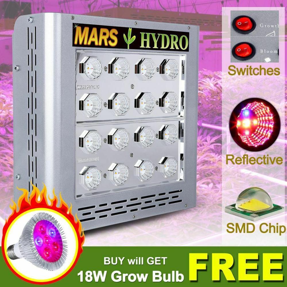 Mars Pro II Epistar Cresce A Luz LED 400W Crescer Lâmpada Planta Espectro Completo de Efeito Estufa Interior Medical Todas As Plantas