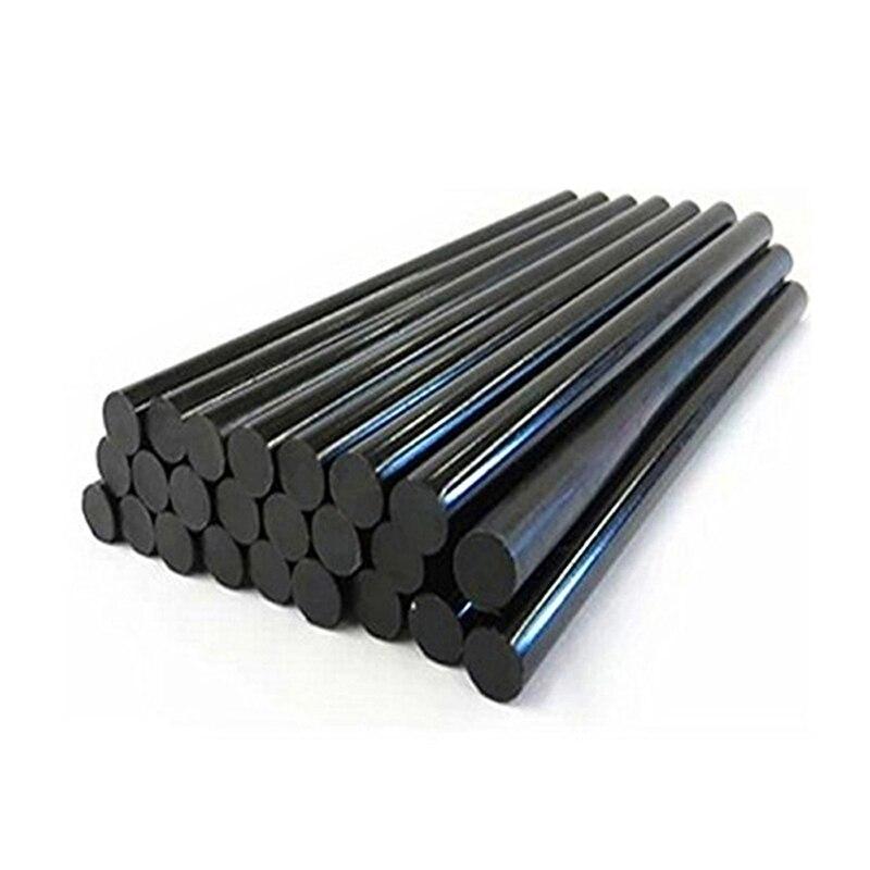 50Pcs Diameter 11Mm Black High Viscosity Hot Melt Glue Stick Professional Length 270Mm Diy Glue Sticks Paste Tools