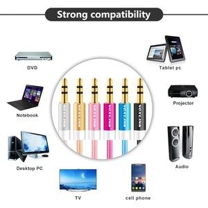 Image 4 - VOXLINK Audio Cable  Jack 3.5 mm Speaker Line Aux Cable for iPhone 6 Samsung galaxy s8 Car Headphone Xiaomi redmi 4x Audio Jack