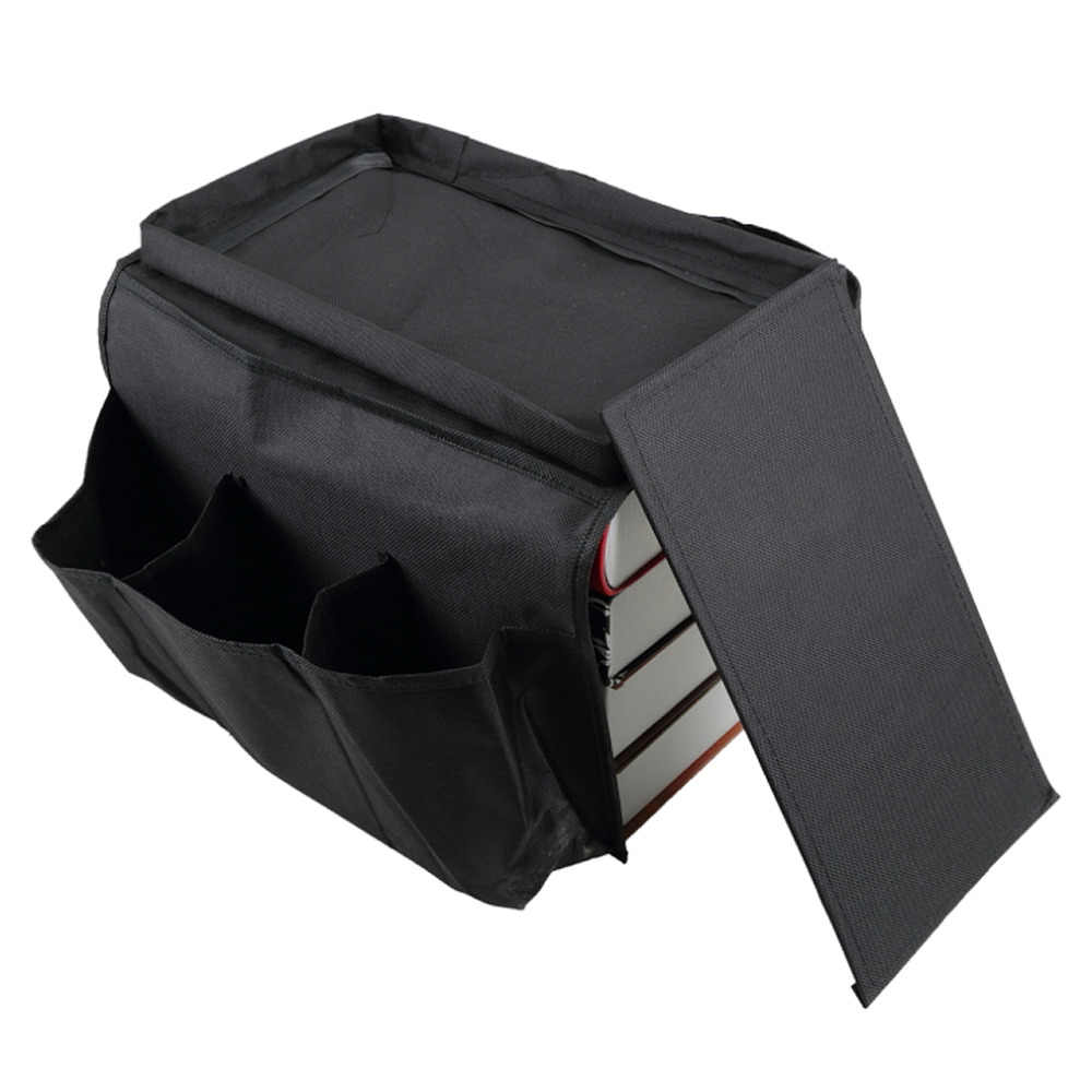 6 กระเป๋าโซฟา Handrail Couch Armrest Arm Rest Organizer รีโมทคอนโทรลผู้ถือกระเป๋าโซฟาทีวีโซฟา Corrimao Braço Resto ทั่วโลก