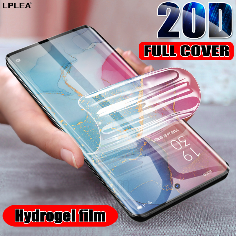 20D Hydrogel Film For Samsung Galaxy A50 A51 A71 S8 S10 Plus S9 Screen Protector For Samsung S9 Plus Note 8 Film Cover Not Glass