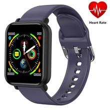 Смарт-часы R16, браслет для измерения артериального давления, фитнес-трекер, монитор, много видов спорта, для мужчин, женщин, SMS, вызов, цветной, водонепроницаемый ремешок