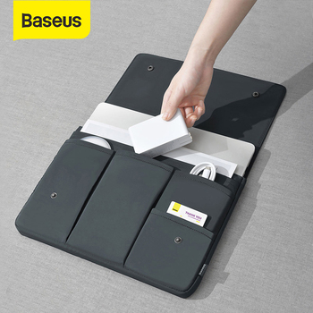Baseus Laptop Bag for Macbook Pro 13 15 inch Case Tablet Sleeve Notebook Cover for Macbook Air Ordinateurs Portables Accessories