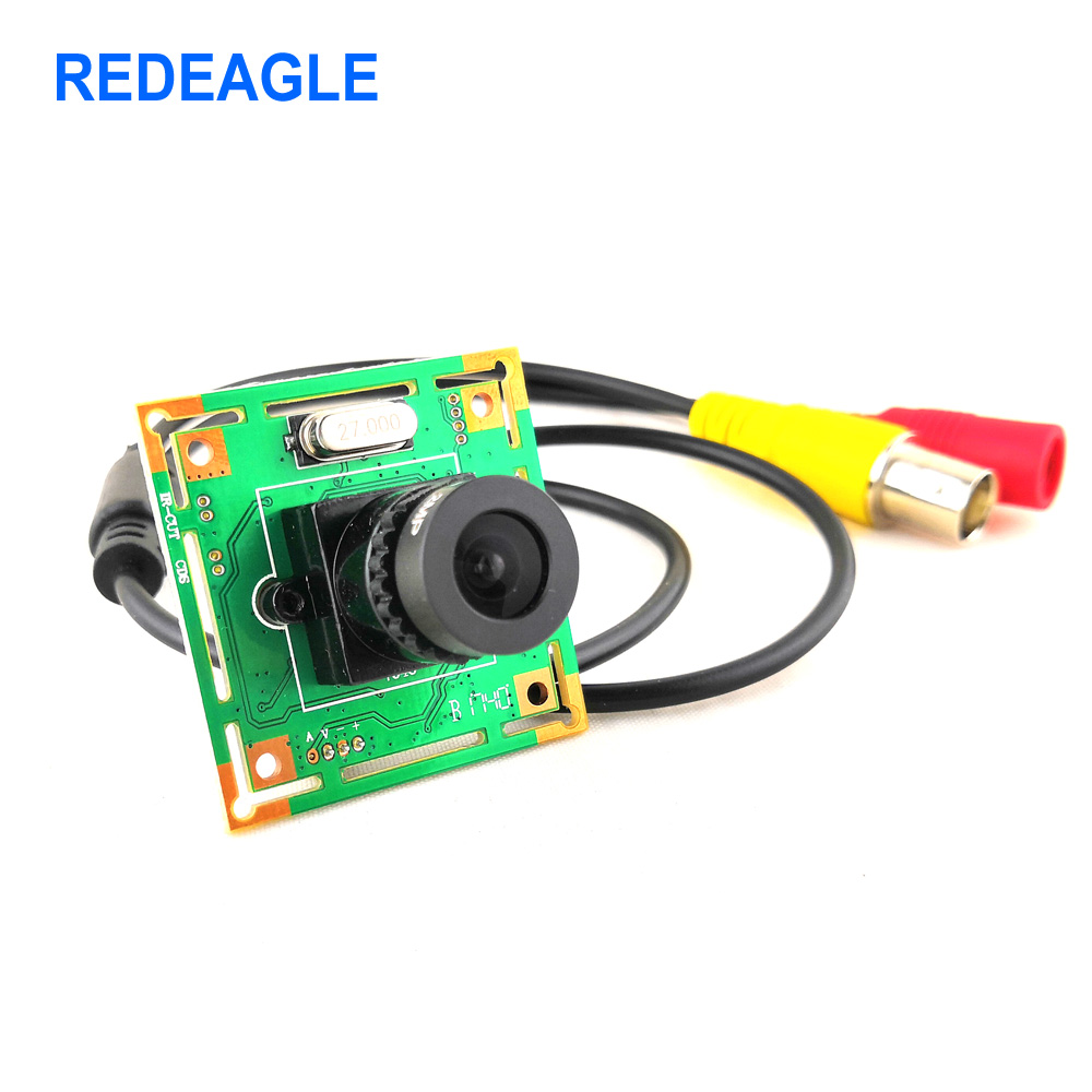 REDEAGLE CVBS Mini Analog Camera Home Security Surveillance Video Camera 700TVL CMOS Board Module