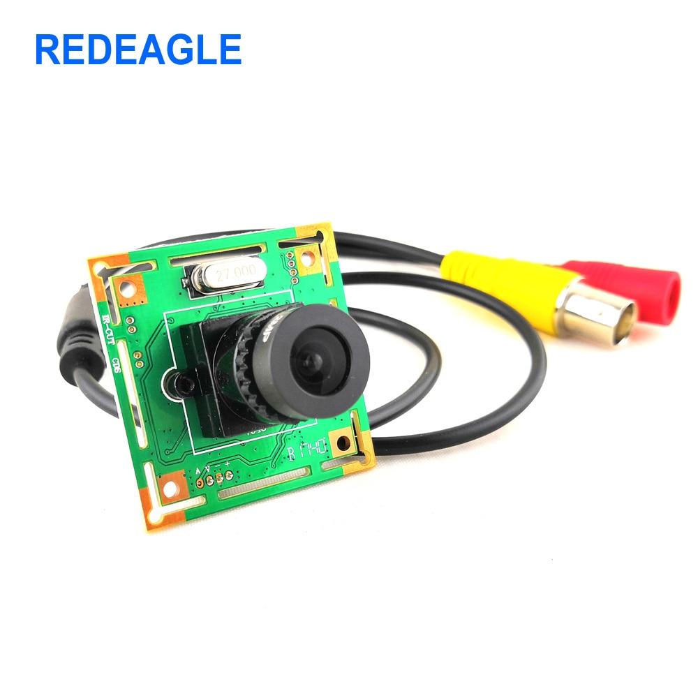 REDEAGLE CVBS Mini Analog Camera Home Security Surveillance Video Camera 700TVL CMOS Board Module
