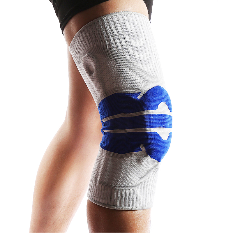 1PC High Elastic Knee Support Brace Kneepads Adjustable Patella Basketball Volleyball Safety Guard Strap Protector Knee