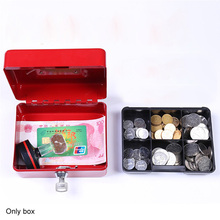 Buy Security Lock Metal Safe Key Style Home Office School Mini Petty Kids Portable Storage Boxes Birthday Gift 1 Pcs Lockable directly from merchant!