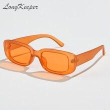 Longkeeper 2020 винтажные прямоугольные солнцезащитные очки