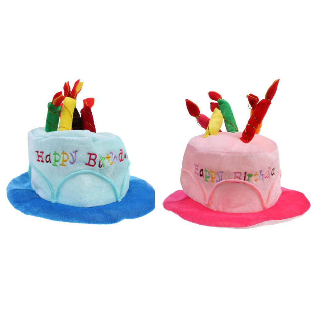 Superb 2 Pieces Fashion Unisex Happy Birthday Celebrations Plush Party Funny Birthday Cards Online Elaedamsfinfo