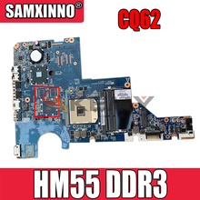Hoge Kwaliteit Voor Hp CQ62 CQ42 G42 G62 G72 Laptop Moederbord 595184-001 DA0AX1MB6F1 HM55 PGA989 DDR3 100% Getest snel Schip