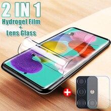 Camera-Lens Screen-Protector Hydrogel-Film Glass Samsung Galaxy for A10 A20/A30/A40/..