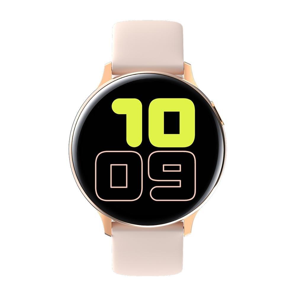 LEMFO Newest S20 Full Touch 1.4″ Smart Watch IP68 ECG Health Tracker Women Smart Watch Men Multi-Sport Modes Bluetooth Music