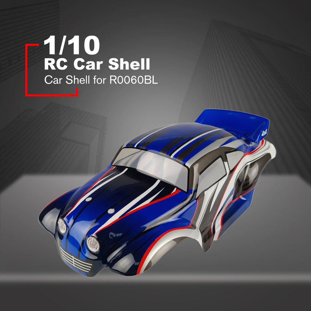 1/10 RC Drift Car PVC Body Shells Cover For VRX R0060BL/R0060G /R0060R/R0205/R0206/R0207 On-road Car