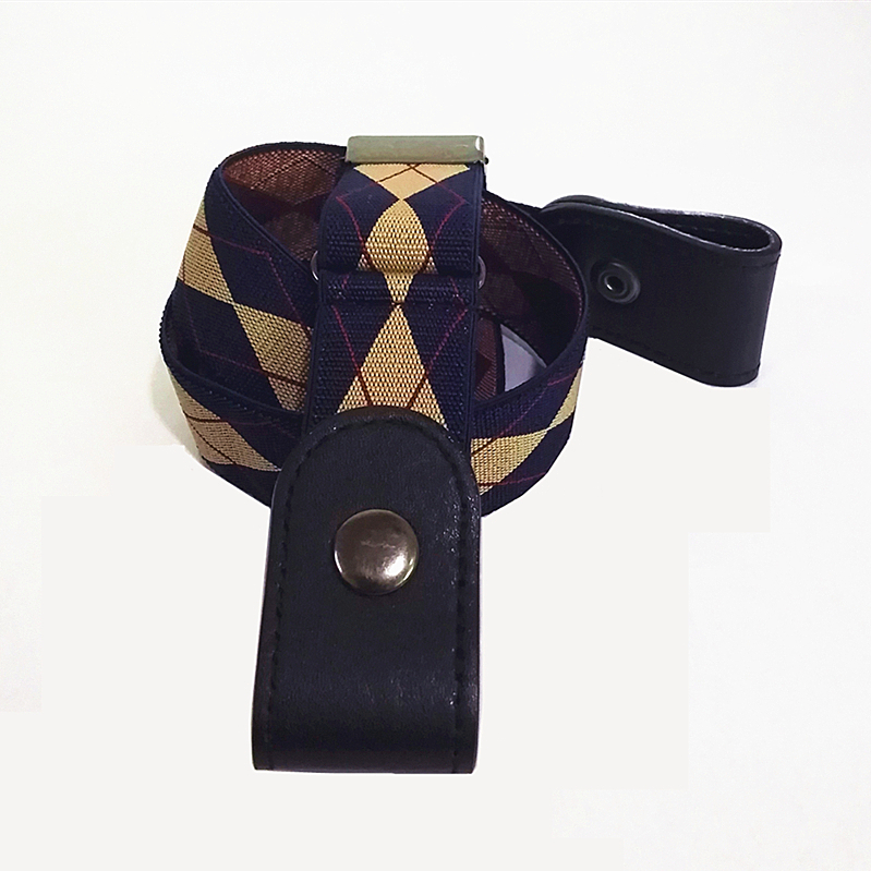 Waist Art Buckle Free Belts for Jean Pants Rectangle Buckle Stretch Elastic Waist Belt for Women Men No Bulge Simple Lazy Belt in Men 39 s Belts from Apparel Accessories
