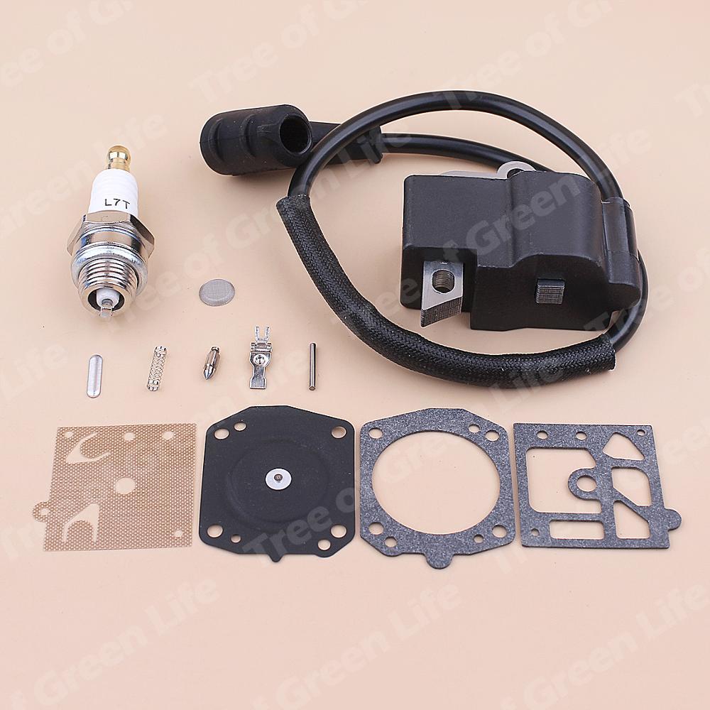 Chainsaw 400 For Spark Coil Repair 1300 1138 Stihl Ignition Kit Carburetor Plug Diaphragm MS441 441 MS