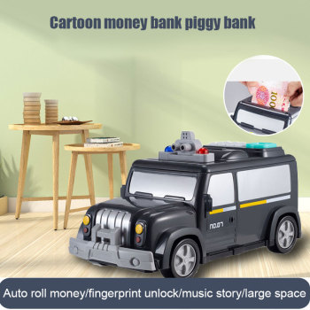 Dla dzieci skarbonka zabawki skarbonka zabawka dla dzieci elektroniczna skarbonka środków pieniężnych samochodu hasło skarbonka YH-17 tanie i dobre opinie 256879 2-4 lat 5-7 lat