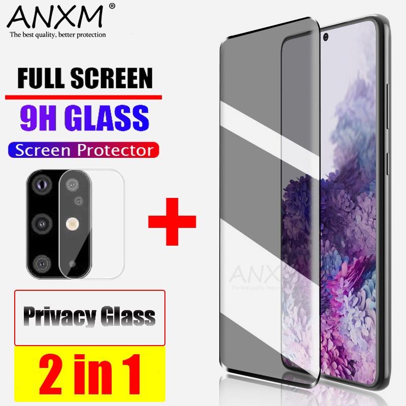 Закаленное стекло для Samsung Galaxy S10 S20 Plus, ультра покрытие, защита экрана, анти синий луч, шпион для Samsung S20 Plus S20 + стекло|Защитные стёкла и плёнки|   | АлиЭкспресс