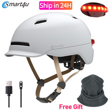 Smart4u Outdoor Fietsen Mtb Smart Fiets Lamp Helm Motorfiets Fiets Back Light Helm Mannen Vrouwen Waterdichte Led Licht(China)